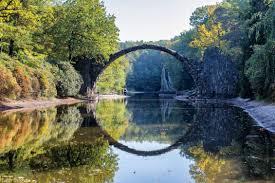 100 Water Bridge Germany Rakotzbrcke A Fairytale In Saxony Earth