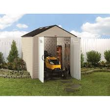 rubbermaid 7 x 10 storage building maple walmart com