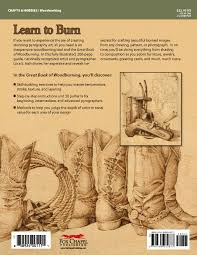 great book of woodburning pyrography techniques patterns and