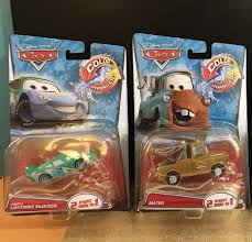 DISNEY PIXAR CARS Color Changers DINOCO Lightning McQueen & MATER ...