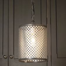 Decorative Metal Lamp Banding by Cylinder Radiator Screen Pendant Shades Of Light