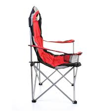 Evenflo Compact Fold High Chair Marianna by Marko Outdoor Red U0026 Grey Heavy Duty Deluxe Padded Folding Steel