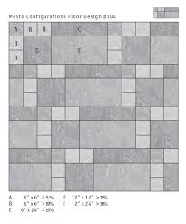 6 X 24 Wall Tile Layout by Mesto Configurations Rubber Tile