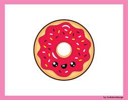 50 OFF SALE Donut Clipart Kawaii Clip Art Donuts