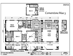 100 Cornerstone House Plans Modular Ranch MAX 5 CN370A Find A Home