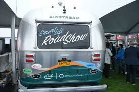 100 Inside An Airstream Trailer Video Amazons Traveling Smart Home Trailer Where Alexa