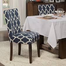 HomePop Classic Parsons Dining Chair - Geo Brights Navy Blue (Set Of 2) Navy Ding Room Chairs Beautiful Blue Upholstered Popular Turquoise Pascal Chair Set Of 2 Gingko Home Abbyson Sierra Tufted Velvet Wingback Adriani Of Wooden Leather Fabric John Lewis Ivory Homepop Classic Parsons Geo Brights Homepop K6805f2088 The Sofia Traditional With Natural Finish Partners Audley Covers Ghost