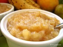 dessert a base de compote de pommes compote de pommes et bananes à la vanille la recette gustave