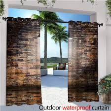 100 Brick Ceiling Amazoncom Wall ExteriorOutside Curtains Dark Cracked