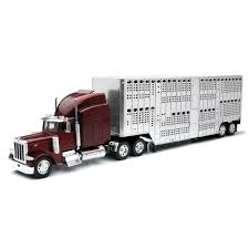 Peterbilt 379 Livestock Truck 1:32 Scale Toy Semi | EBay Long Haul Trucker Newray Toys Ca Inc 132 Scale Custom Fedex Hooking Up Pups Youtube Tamiya 110 Team Hahn Racing Man Tgs 4wd Semi Truck Kit Ford Aeromax Tractor Snaptite Model Monogram 1216 1 Peterbilt Italeri 125 Weathered Model Ideas Pinterest Trucks Big Rigs Tonkin Dcp Post Them Up Page 11 Hobbytalk Amazoncom Ertl Farm 579 With John Deere 4 Super B Train Bottom Dumpers 379 Longhood Model Trucks Diecast Tufftrucks Australia Siku Control Rc Us Trailer In Auflieger Im 6204dwellyfreightlinercolumbiaactortruck132diecast Bevro Intertional Webshop