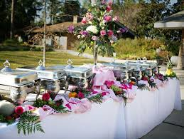 Wedding Buffet Table Pictures