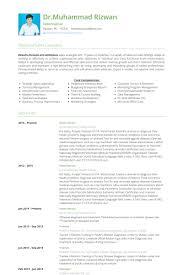 Veterinarian Resume Samples