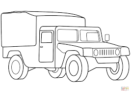 Click The Military Medical Vehicle Coloring Pages To View Printable