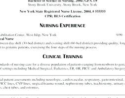 Sample Resume For Company Nurse Without Experience Nurses With Samples Registered