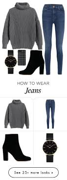 101 By Iamariot7 On Polyvore Featuring J Brand And CLUSE Casualwinteroutfit