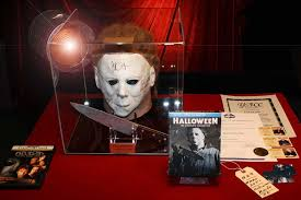 Halloween H20 Mask by Halloween Prop Knife H20 Signed Jamie Lee Curtis Autograph Mask
