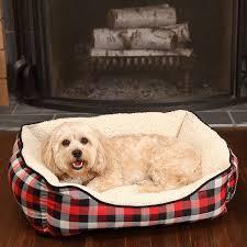 Cuddler Dog Bed by Woolrich Buffalo Plaid Cuddler Dog Bed 28x23 U201d