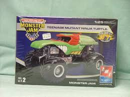 100 Ninja Turtle Monster Truck MONSTER JAM Teenage Mutant