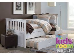 Discovery Furniture Youth Bedroom Chesapeake White Twin Trundle