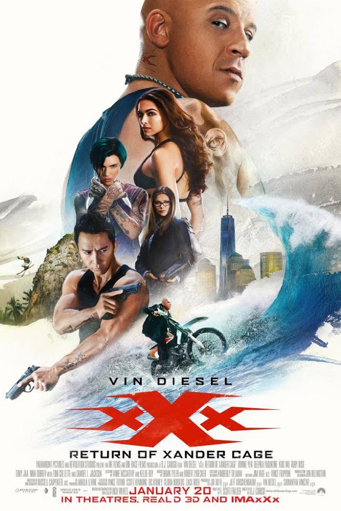 Xxx Return Of Xander Cage 2017 Bluray Dual Audio Hindi 720p 480p Mkv