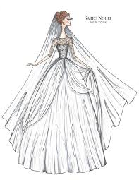 From Sketch To Gown Wedding Dress Designer Sketches 4