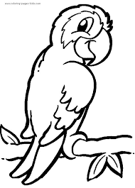 How To Draw A Bird Step By Birds Animals Free Online Drawing Cute Animal Coloring Pages