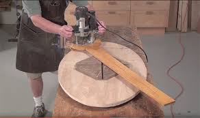 elliptical router jig for any size oval popular woodworking magazine