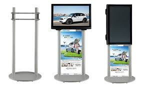 Portable LCD LED TV Stand Exibition Product Trade Show 37 To