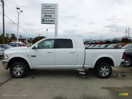 Dodge+megacab | Bright White 2012 Dodge Ram 3500 HD Laramie Mega Cab ...