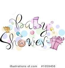Baby Shower Clipart Illustration by BNP Design Studio