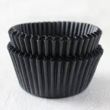 Black Cupcake Liners BCA0850047