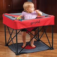 Peapod Plus Baby Travel Bed by Gopod Travel Activity Seat