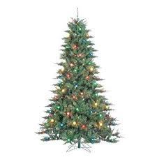 75 Ft Unlit Christmas Tree Lit Indoor Pine Artificial Home Interior Design Books