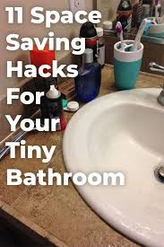 11 Space Saving Ideas For Your Small Bathroom 11 Easy Storage Ideas For Small Bathrooms Space Saving