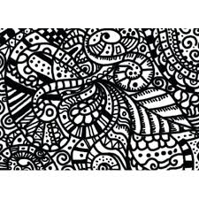 Hard Abstract Coloring Pages For Teenagers Download