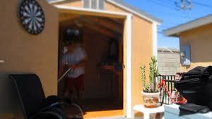 Tuff Shed Cabin Interior by Toms Tuff Shed Youtube
