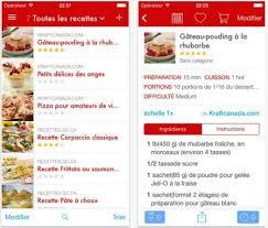 logiciel recette cuisine dossier gourmand plus de 18 applis de recettes de cuisine sur