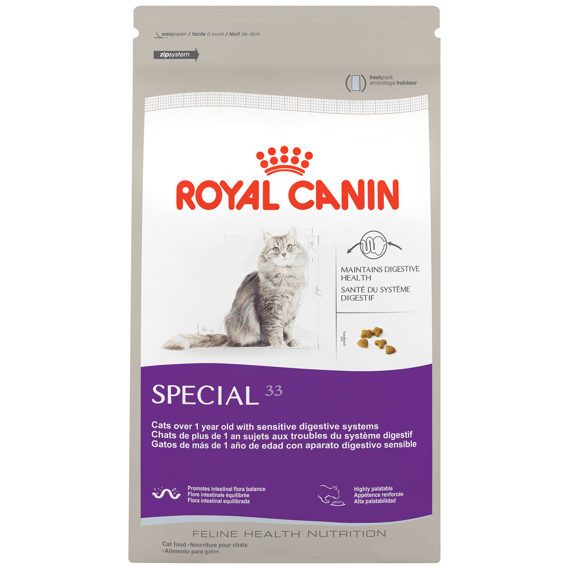 Royal Canin Feline Health Nutrition Special 33 Dry Cat Food - 3.5lbs