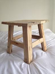 Reclaimed Pallet Wood Stool