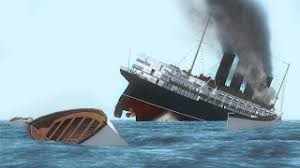 Titanic Sinking Simulation Real Time by Sinking Simulator Most Realistic Titanic Sinking Youtube