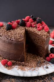 Decadent And Moist 2 Layer Chocolate Velvet Cake With Milk In The Batter Top
