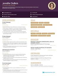 Project Manager Resume [2019] - Example & Full Guide Template Professional Cv Word Professional Words For Best Resume Builder Online Create A Perfect Now In 15 Free Tools To Outstanding Visual Free Reddit Luxury Black Desert Line Fake Maker Fabulous Zety Make Top 10 Reviews Jobscan Blog Career Website On Twitter With Stunning Templates Alternatives And Similar Websites Apps Security Guard Sample Writing Tips Genius Simple Quick Lovely New
