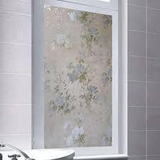 window sticker verdicktes mattglas aufkleber badezimmer