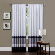 Black And White Striped Curtains by Coffee Tables Black And White Sheer Curtains Black And White