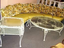 patio ideas retro outdoor furniture lowes vintage patio