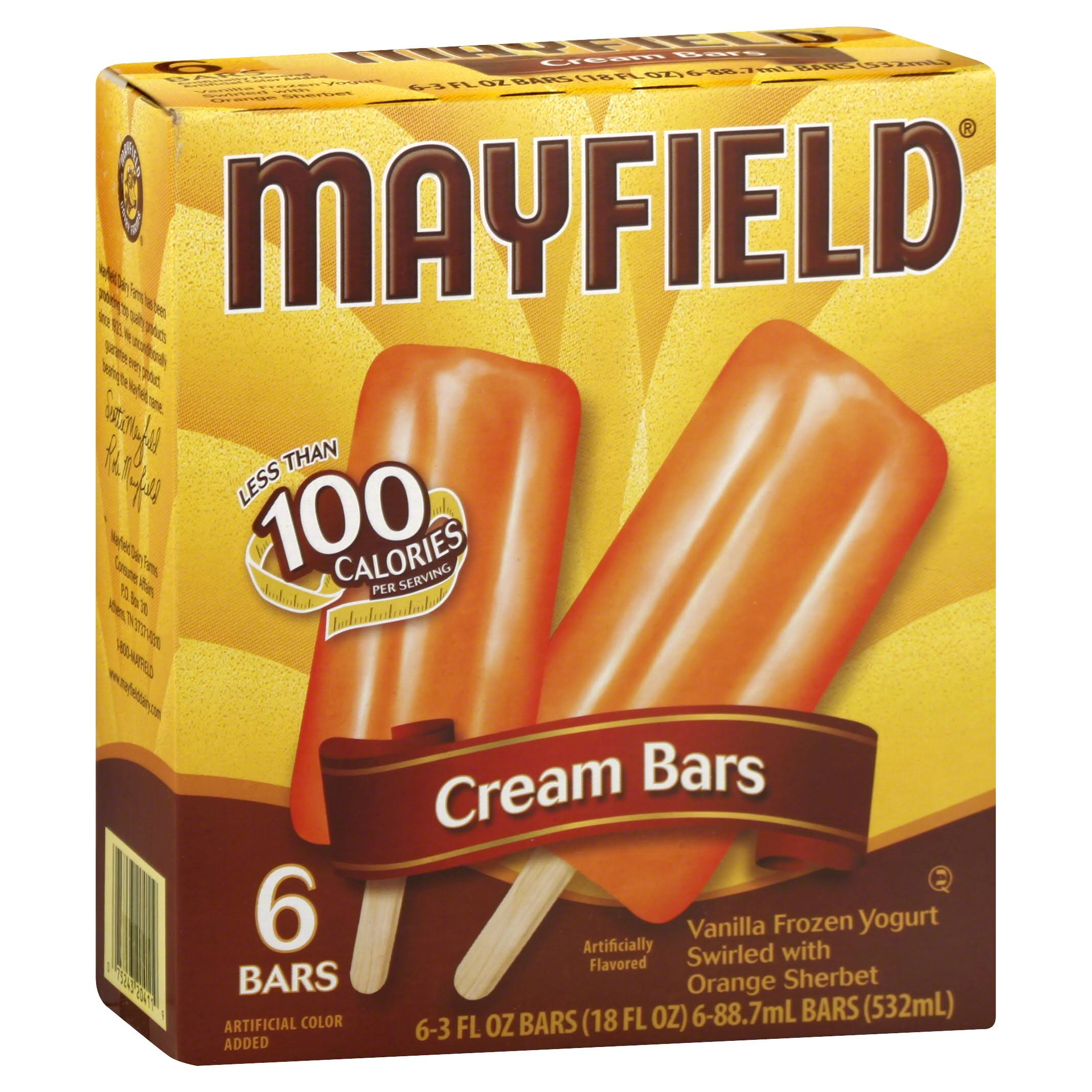 Mayfield Cream Bars - 6ct