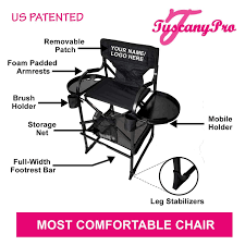 Your Name/Logo Included Portable Makeup Chair - Perfect For Makeup, Salon,  Events With 29 Inch Seat Height - 10 Years Warranty - US Patented As Seen On Tvfree Name Logothe Original Tuscany Pro Mid Size Makeup Hair Portable Chair W Light System 25 Seat Height Mk99200 Folding Oiled Oak White Canvas The Conran Shop 37 Foldable Chairs Great To Have Around Summer Infant Pop N Sit Sweet Life Edition High Mango Amazoncom Lzrzbh Colourful Bar Stools Backrest Mu2r25 Camping Flat Folding Chair A Collapsible With Unique Bip A Revolutionary Foldable Seat By Dilite Equipment Cosco Products Vinyl Black Best Comfortable For Small Spaces Vurni