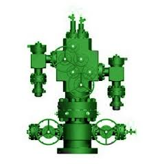 Dual Completion Wellhead Christmas Tree