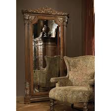Michael Amini Living Room Sets by Michael Amini Villa Valencia Accent Wall Storage Mirror By Aico