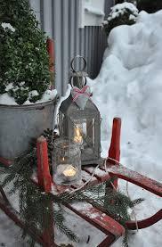 40 Comfy Rustic Outdoor Christmas Decor Ideas